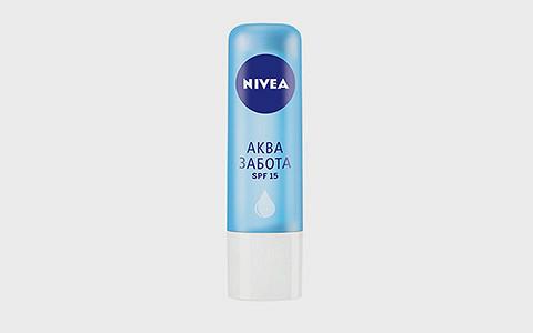 Бальзам для губ Nivea «Аквазабота»