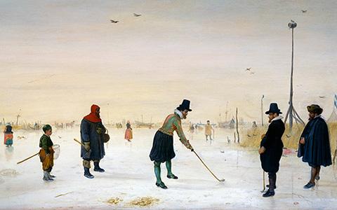 Зимние виды спорта в мировом искусстве
