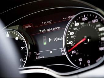 Audi научат распознавать сигналы светофора
