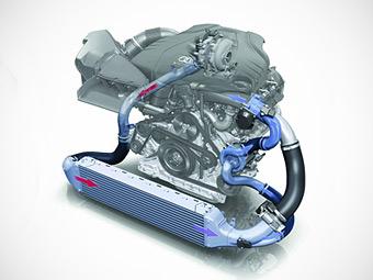 Audi экспериментирует с электрическими турбонагнетателями