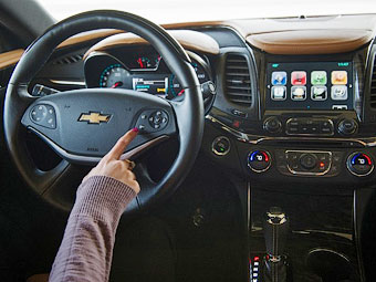 Chevrolet представила новую мультимедиа-систему MyLink