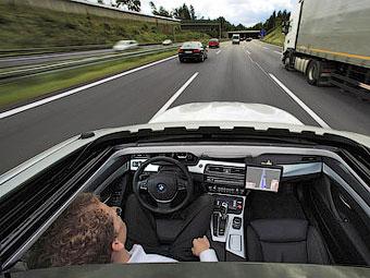 BMW с автопилотом выйдет на рынок в 2020 году