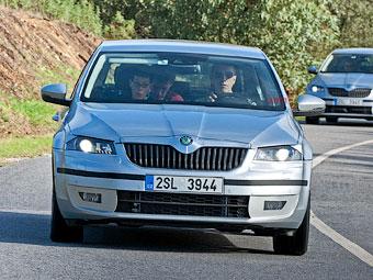 Предсерийная Skoda Octavia нового поколения. Фото с сайта auto.cz
