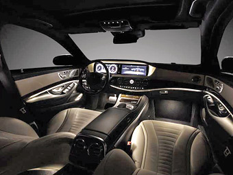 Салон нового Mercedes-Benz S-Class. Фото Mercedes-Benz