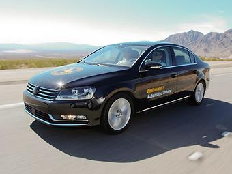 Тестовый VW Passat с автопилотом Continental. Фото с сайта motorauthority.com