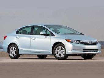 Honda Civic Natural Gas. Фото Honda