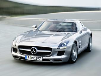 Mercedes-Benz SLS AMG. Фото Mercedes-Benz