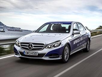 Mercedes-Benz E-Class 300 BlueTEC Hybrid. Фото Mercedes-Benz