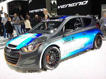 Hyundai i20 WRC. Фото Мотора