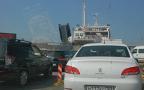 Керченскя переправа собрала более 2500 автомобилей