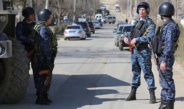 ВКабардино-Балкарии ищут боевика, раненного входе спецоперации