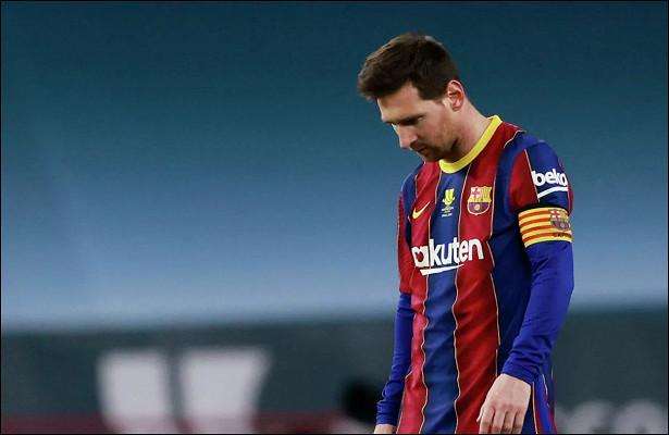 «Барселона» задолжала Месси €63,5млн