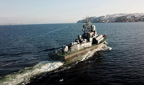 Силы ивойска Северного флота врамках учения развернулись вБаренцевом море инаКольском полуострове
