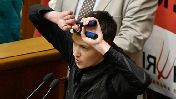 В Раде заподозрили Савченко в связях с ополченцами