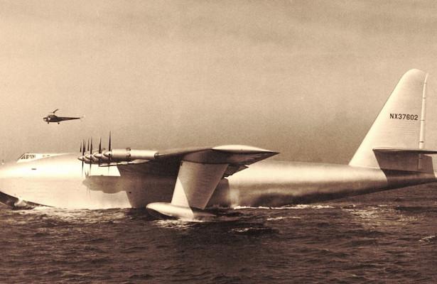 Какой была самая большая летающая лодка