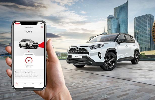 Стартовали продажи RAV4 Style сфункциями Toyota Connected Services