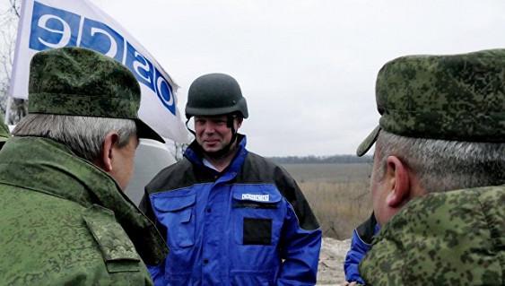 НаДонбассе бойкотировали офицера ОБСЕ из РФ