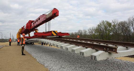 Минобороны и РЖД заложили новый участок железной дороги