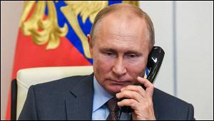 Путин поговорил потелефону сБайденом