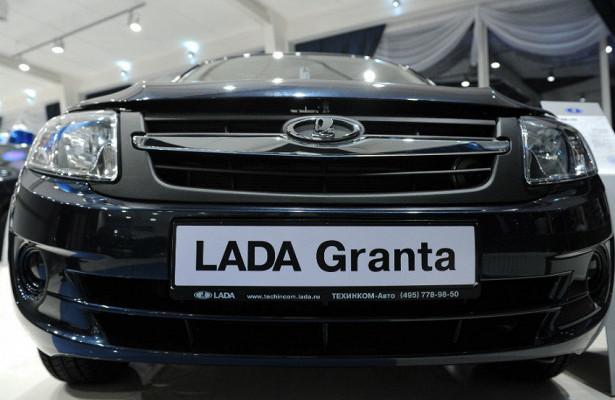 Lada Granta стала самым продаваемым автомобилем вфеврале