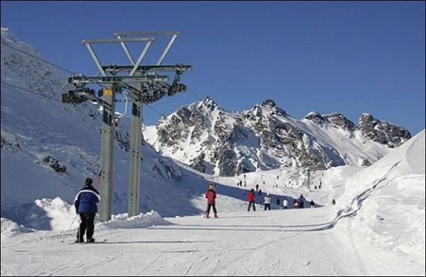 ВЧечне открыли первый горнолыжный курорт