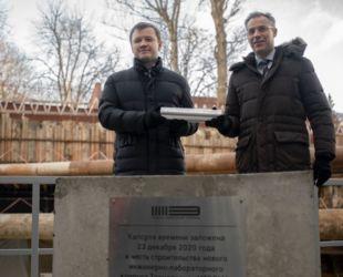 Втехнопарке наюгеМосквы началось строительство нового корпуса длявысокотехнологичных производств