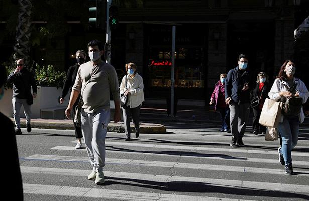 ВГреции вводят частичный локдаун из-закоронавируса
