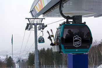 Сахалинский горнолыжный курорт «Горный воздух» бьет рекорды посещаемости