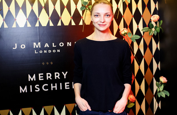 Екатерина Вилкова идругие звезды нарождественском коктейле JoMalone London