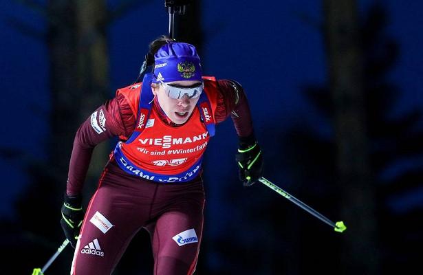 Женская сборная России выиграла эстафету вАнтхольце