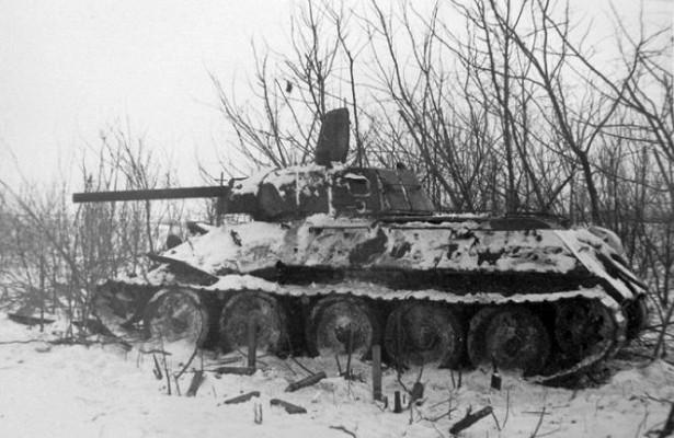 Какнемцы 13дней штурмовали советский Т-34