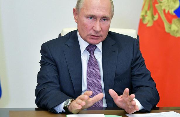 Путин обсудил счленами Совбеза конфликт вКарабахе