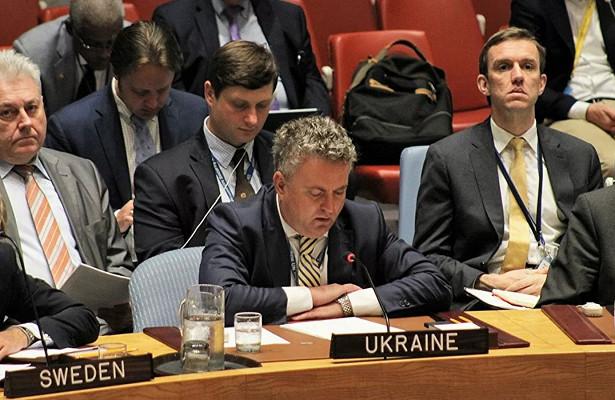 Украинский постпред вООНпотребовал лишить Россию права вето вСовбезе