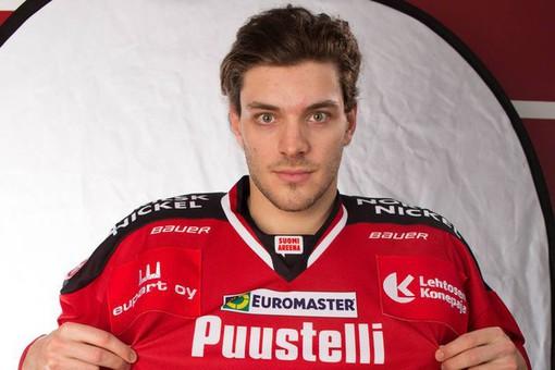 Самый полезный хоккеист финской лиги стал игроком «Сибири»