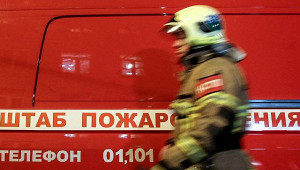 Замерзающим пожарным подарили гнилые дрова