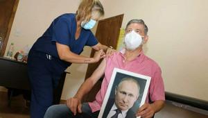 Мэраргентинского города привился спортретом Путина вруках