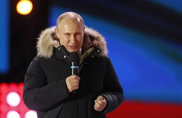 Путин лидирует навыборах президента России