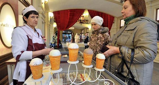 За год из России в Китай доставили 700 тонн мороженого