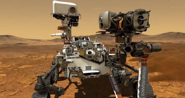 Ровер Perseverance совершил первую поездку поМарсу