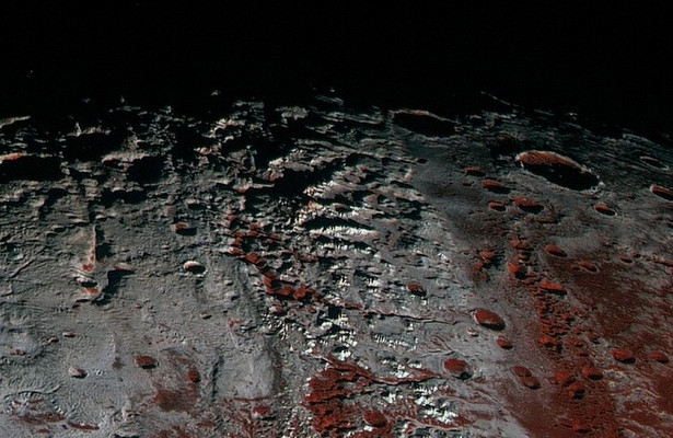 Горные ледники Ктулху наПлутоне состоят изметана