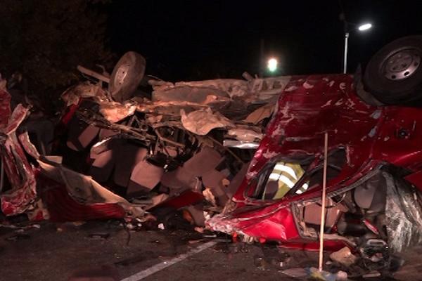 Большая автокатастрофа: 11человек погибли вДТПсгрузовиком вЧувашии