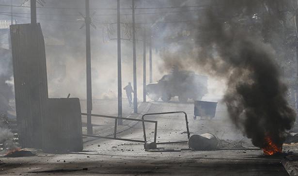 Награнице Израиля иПалестины начались столкновения