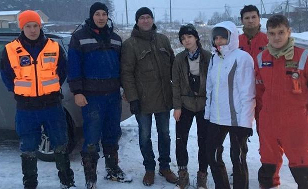 Пропавших студентов спасли иззаброшенной каменоломни
