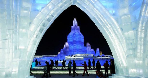 «Сердце ледяного города»: самый высокий небоскреб вКитае ссамым коротким жизненным циклом