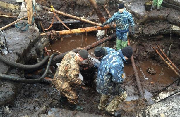 Поднимать останки солдат соднаводоемов учатся вологодские поисковики