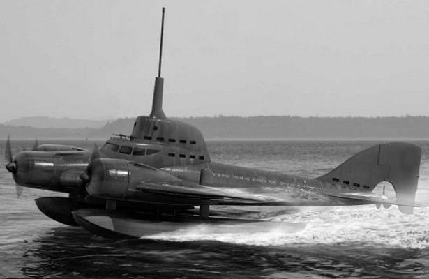 Зачем Сталин хотел построить летающую подводную лодку