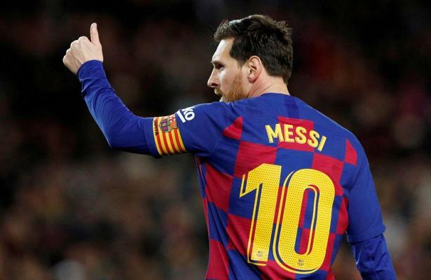 Месси установил рекорд Лиги чемпионов