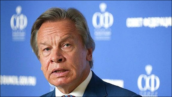 Пушков заявил, чтоудел Латвии— оставаться европровинцией