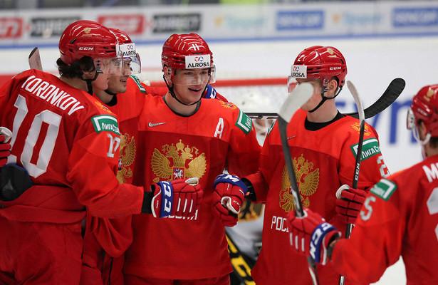 Российские хоккеисты разгромили Австрию вматче МЧМ