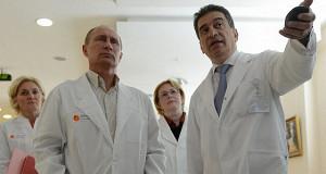 Путин предложил освободить врачей от заполнения «вороха отчетов и справок»